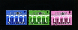 JERSEY - 1984  EUROPA  SET  MINT NH - Jersey