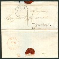 Belgique Lettre Précurseur Expédiée De Gand Vers Courtrai Datée Du 22 Mai 1832 - 1830-1849 (Belgique Indépendante)