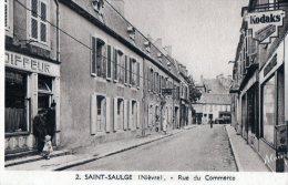 [58] Nièvre > Non Classés Saint Saulge Rue Du Commerce - France