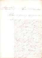 CARTA ORIGINAL DE PAY UBRE PAYUBRE HOY MERCEDES PROVINCIA DE CORRIENTES INFORMANDO CUESTIONES POLITICAS AL GOBERNADOR DE - Historische Dokumente