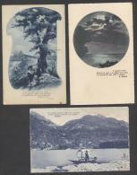 5536-N°. 5 CARTOLINE-POETI-ANILE-ALEARDI- GOLDONI-ABOER-POESIA-FP - Scrittori