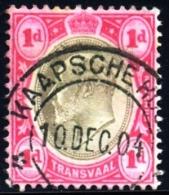 Transvaal 1904. KAAPSCHE HOOP Postmark Cancel. - África Del Sur (...-1961)