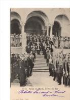 TUNISIE----TUNIS-----PALAIS DU PARDO,SORTIE DU BEY-----VOIR 2  SCANS - Tunisie