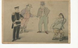 Satirical Sino Japanese War Uncle Sam  - China