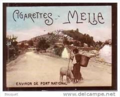 CHROMO - CIGARETTES MELIA - ALGERIE - ENVIRON DE FORT NATIONAL - 65 X 48 Mm - Melia