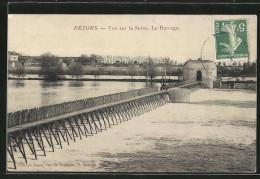 CPA Bezons, Vue Sur La Seine, La Barrage - Bezons