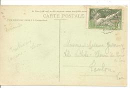 N° Y&T 183  MT ST MICHEL Vers TOULON   Le  16 MARS 1923( 2scans) - Frankreich