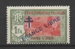 French India - Inde (1941) Yv. 161  / - India (1892-1954)