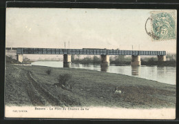 CPA Bezons, Le Pont Du Chemin De Fer - Bezons