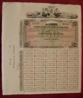 PRECIOSA ACCION - COMPAÑIA FERROCARRILES DE MALLORCA - OBLIGACION DE 50 PTS - - Ferrocarril & Tranvías