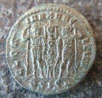 #415- Dalmatius - GLORIA EXERCITVS - XF! - 7. L'Empire Chrétien (307 à 363)