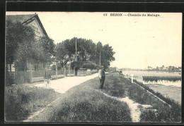 CPA Bezons, Chemin Du Halage - Bezons