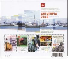 Belg. 2009 - COB N° 169 ** - Antverpia - Antwerpen Ville Artistique (3904 à 3908) - Blocks & Sheetlets 1962-....