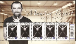 Belg. 2009 - COB N° 3928 ** - Maurice Béjart - Nuevos