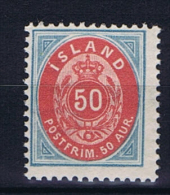 Iceland: 1892 Mi 16 B MNH/**, RRR - 1873-1918 Deense Afhankelijkheid