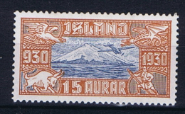 Iceland: 1930  Mi 142  MNH/** - Luchtpost