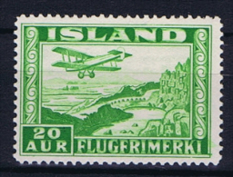 Iceland: 1934  Mi 176 A  MNH/** - Luchtpost