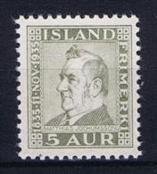 Iceland: 1935  Mi 184  MNH/** - 1918-1944 Autonoom Bestuur
