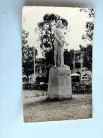 Carte Postale Ancienne : TANANARIVE , 5 Novembre 1954 , Souvenir De L'inauguration Statue De Jeanne D'Arc Par R. Bargues - Madagascar