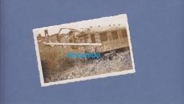 Photo Ancienne - Déraillement D'un Train à Identifier - Treinen