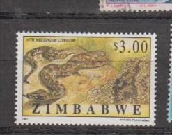 Zimbabwé YV 372 N 1998 Serpent - Serpents
