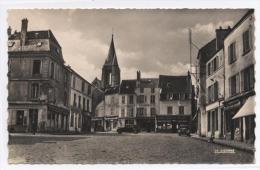 BRIE COMTE ROBERT - Place Du Marché--VOITURES   -RECTO/ VERSO--E21 - Brie Comte Robert