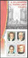 Italy 2001 Famous People Opera Michel Bl.27 MNH (**) - 6. 1946-.. Republic