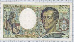 200 Francs Montesquieu, Ref Fayette 70/12a, état SUP - 1962-1997 ''Francs''