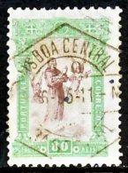 !■■■■■ds■■ Portugal 1895 AF#119ø St. Anthony 80 Réis VFU (x0296) - Usado