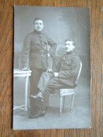 SOLDATEN / ?? / SOLDIERS Te Identificeren ( Photo ? ) Anno 19? ( Voor Details Zie Foto ) ! - Guerra, Militari