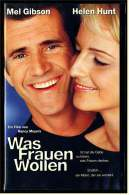 VHS Video Komödie -  Was Frauen Wollen  -  Mit : Mel Gibson, Lisa Edelstein, Judy Greer, Marisa Tomei  , Von 2000 - Video Tapes (VHS)