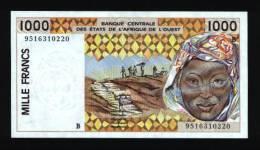 1000 Francs BENIN (Dahomey) 1995 NEUF - UNC - Bénin