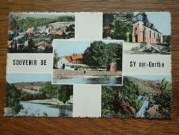 Souvenir De SY Sur Ourthe ( Auberge Du Cheval Blanc P. Verdoodt-Willeaume ) Anno 1958 ( Zie Foto Voor Details ) !! - Ferrières