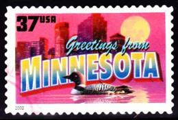 Etats-Unis / United States (Scott No.3718 - Greetings From America - 37¢) [o] Very Fine - Oblitérés
