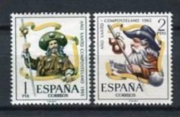 España 1965. Edifil 1672-73 ** MNH. - 1931-Hoy: 2ª República - ... Juan Carlos I