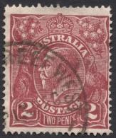 Australia, 2 P. 1927, Sc # 70a, Mi # 73A, Used - Usados