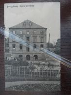 Neufchâteau Ecole Moyenne. Edit Albert Petit (cachet Lavaux 25-02-1914) - Neufchâteau