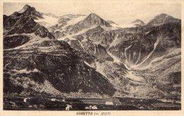 [DC8389] SONDRIO - SORETTA M. 3027 - Old Postcard - Sondrio