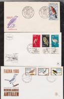 ISRAEL+MALI+PAYS BAS   FDC  OISEAUX  Réf 4381 - Birds