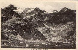 [DC8398] SONDRIO - SORETTA - Viaggiata 1925 - Old Postcard - Sondrio
