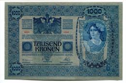 Autriche Hongrie Austria Hungary Österreich 1000 Kronen 1902 AUNC / UNC # 1 - Austria