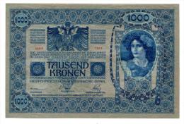 Autriche Hongrie Austria Hungary Österreich 1000 Kronen 1902 AUNC / UNC # 3 - Autriche