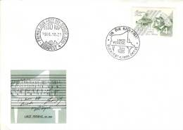 HUNGARY - 1986. FDC - Composer Ferenc Liszt Mi3842. - FDC