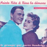 SAINTE RITA & NINA LA DEMONE - Le Groupe Qui Porte Bonheur - CD - CHANSON FRANCAISE - PROMO - Musique & Instruments