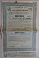 OBLIGATION COMPAGNIE CHEMIN DE FER DE L´ALTAI / 1912/ 187 ROUBLES  ET 50 COPECS - Chemin De Fer & Tramway