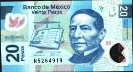 MEXICO P122b   20  PESOS  22 NOV. 2006 Serie  C     AUNC. - Mexique