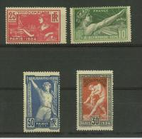 FRANCIA FRANCOBOLLI OLIMPIADI DI PARIGI 1924 SERIE COMPLETA GOMMA ORIGINALE MNH - Nuovi