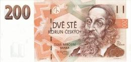 Czech Republic - 200 Korun - 1998 - P 19 - Unc - Tschechien
