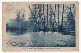 - 86 - CIVRAY (Vienne) - La Charente à L'Ermitage. - Cpa - - Civray