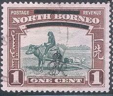 NORD BORNEO Sg 335_6_FAUNA BIRD - Nordborneo (...-1963)